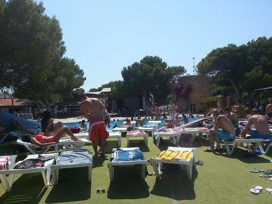 azuLine Club Cala Martina Ibiza : Piscina