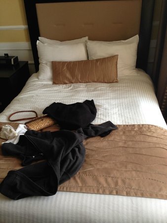 The Pickwick Hotel San Francisco : Double bed