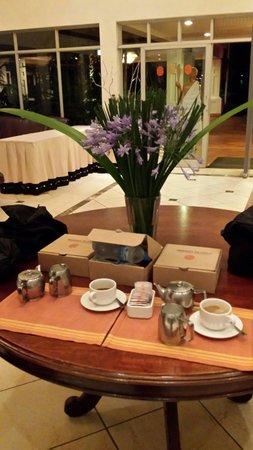 Lake Kivu Serena Hotel : Packed breakfast
