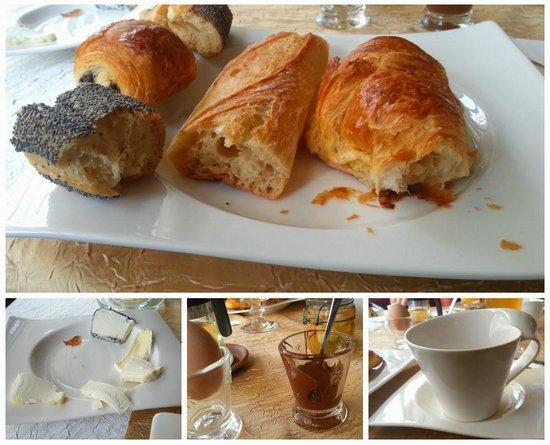 Hôtel de l'Abeille : Café da manhã