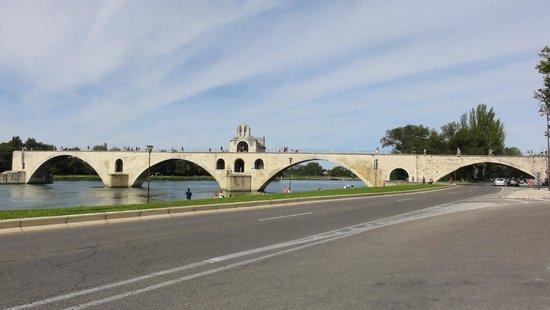 Rocher des Doms : Widok fragmentu mostu