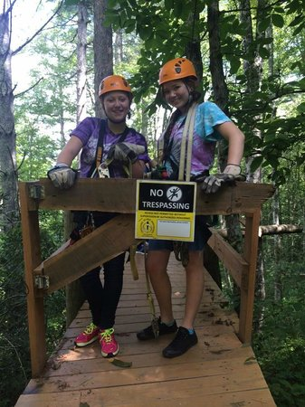 Wildwater Nantahala Falling Waters Resort & Canopy Tours: Awesome Adventure!