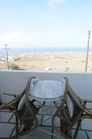 Casa Francesca & Musses Studios: Balcony and sea view