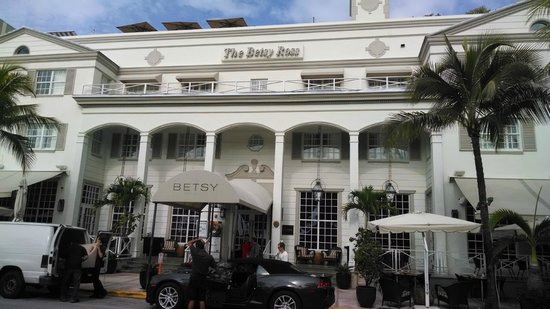 The Betsy - South Beach: VISTA HOTEL