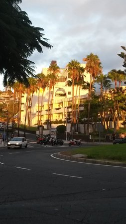 Iberostar Las Dalias : View of hotel from across the road