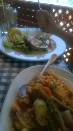 Skala Beach Restaurant: swordfish