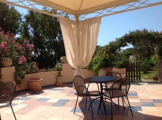 Park Hotel Asinara: терраса