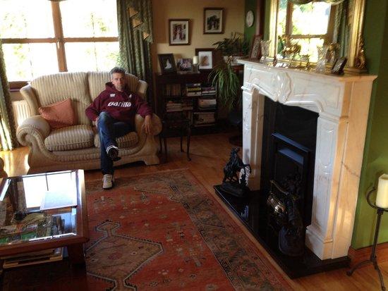 Woodlands House: Soggiorno
