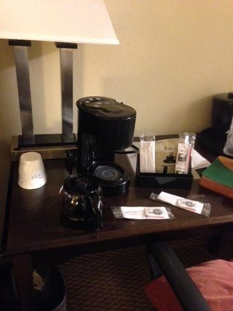 ‪‪Baymont Inn & Suites Greenville‬: In-room coffee maker ignored by housekeeping.‬
