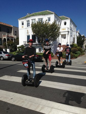 City Segway Tours San Francisco : A fun afternoon out around San Francisco