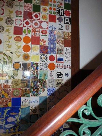 Hotel Catharina Paraguacu: Catharina Paraguaçu ...belissimos azulejos Udo Knof