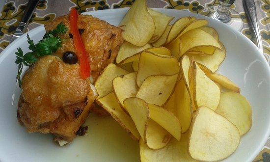 Restaurante Casa das Velhas: Bacalao frito