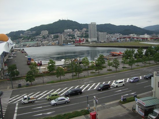 APA Hotel Nagasaki Eki Minami: View from the hotel room - very nice!
