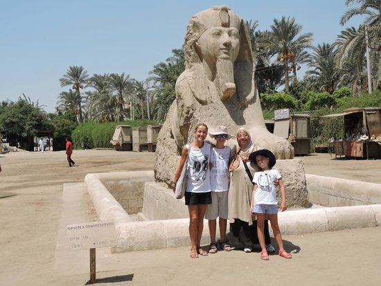 Egypt Tailor Made Day Tours: Ouida & Family