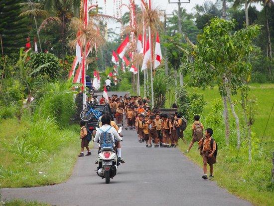 BaliGoBike - Bali Cycling Tours: scene di strada