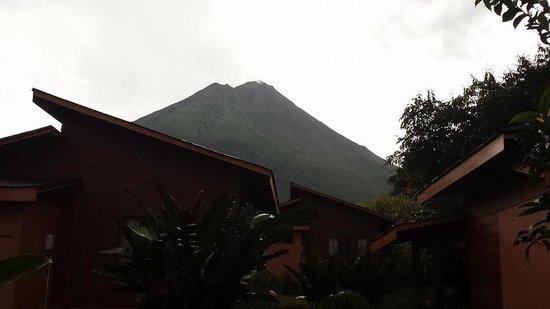 Hotel El Silencio del Campo: view from our room #15