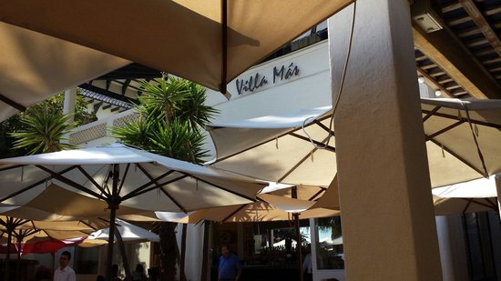 Restaurant Villa Mas : superbe journée