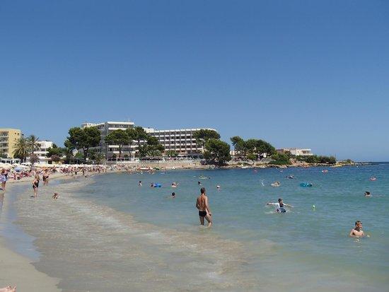 Invisa Hotel Ereso : Es Canar Beach