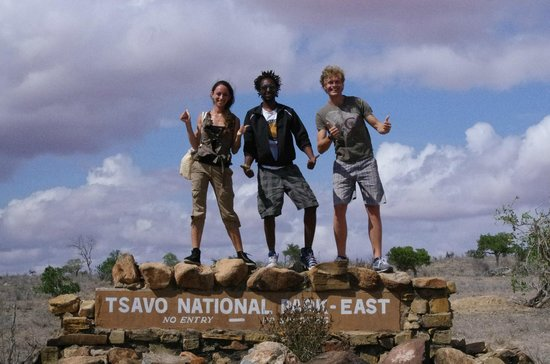 Kenya Safari Team - Day Tours: Io, Annalisa e Mimmo