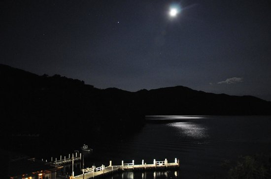 Bay of Many Coves : Moonlit view of the Bay