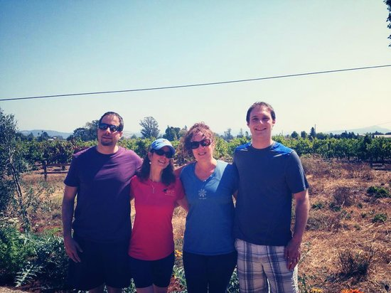 Ace It Bike Tours: Wine Bike Tour to Pellegrini with Frieda