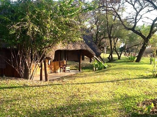 n'Kwazi Lodge & Camping Site: the garden
