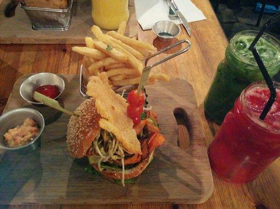 Blend Gourmet Burger : Burger + jus