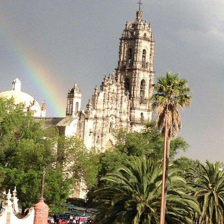 Tepotzotlan, México: excelente vista y bello lugar, la pasamos increible y la comida ! deliciosa!  ademas de contar c