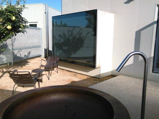 Tudela, España: Terraza
