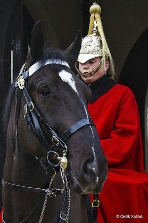 Horse Guards Building: Posando