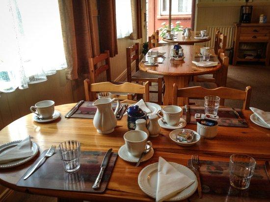 Clifford's B & B : la sala colazione