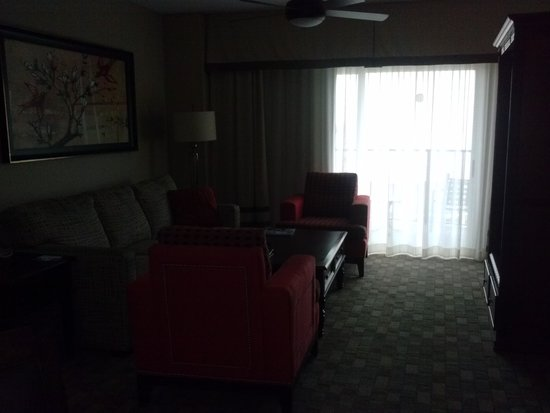 Wyndham Palm-Aire : living room