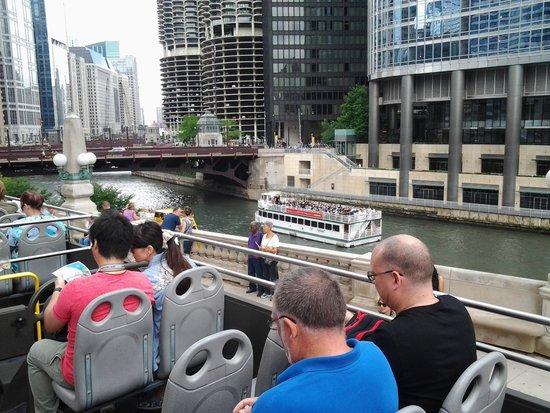 Chicago Trolley & Double Decker Co. : Chicago River