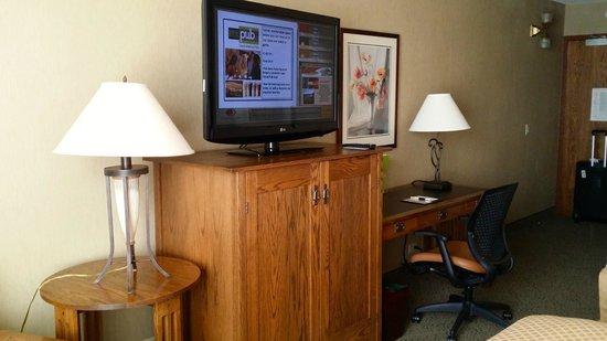 DoubleTree by Hilton Libertyville - Mundelein: large tv