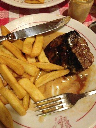 Restaurant Polidor : Beef maravilhoso com um molho dos deuses