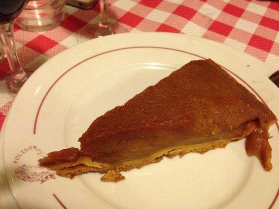 Restaurant Polidor : Tarte tatin