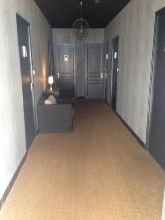 La Casa Mia: Le couloir où se trouve les chambres