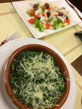 Pastelerias Mauri: First course from set menu