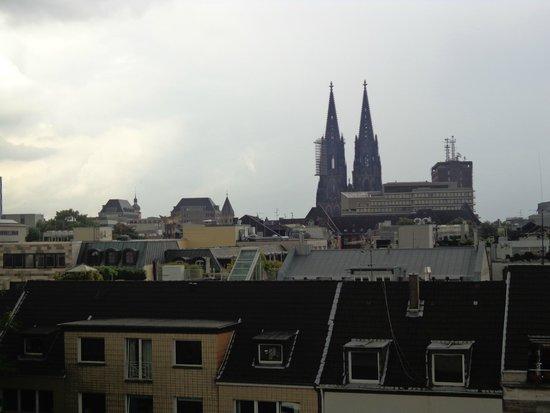 Pullman Köln: Vista parcial da cidade