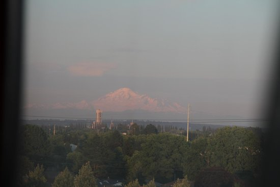 Travelodge Hotel Vancouver Airport: View of Mount Baker from Travelodge