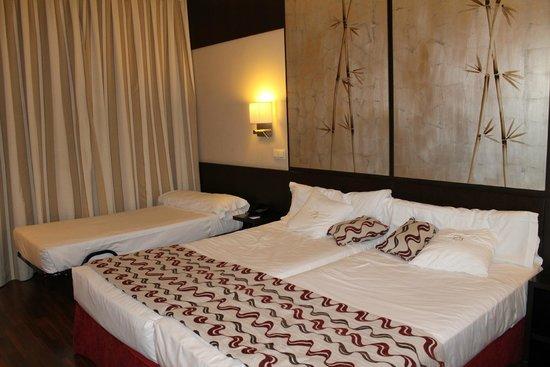Quarto do Hotel Paseo del Arte, Madrid