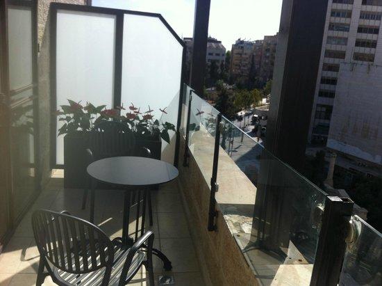 City Center Jerusalem : Our balcony