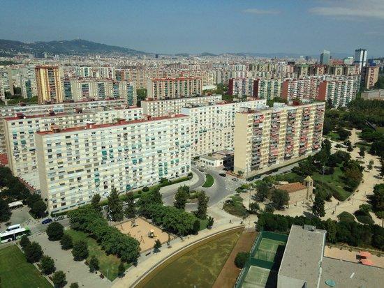 Dusche Decke Schimmel : Schimmel und Rost an der Decke – Bild von Hesperia Tower, Barcelona