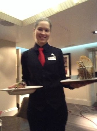 Thistle Euston: Olijia, my server was great!