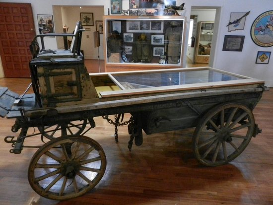 New Mexico National Guard Museum: Mexican Border Campaign Wagon.
