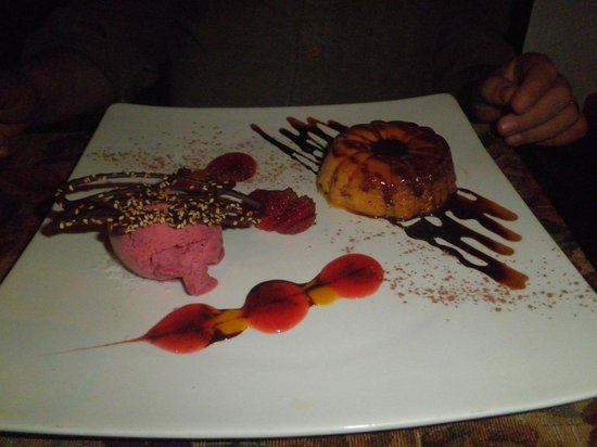 Restaurante Tandory: Flan Tropical