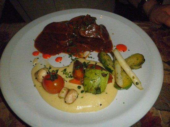 Restaurante Tandory: Lengua Braseada