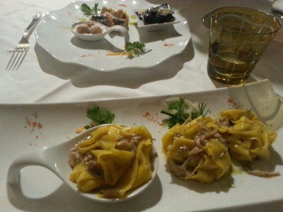 Osteria a Le Due Spade: Primi piatti