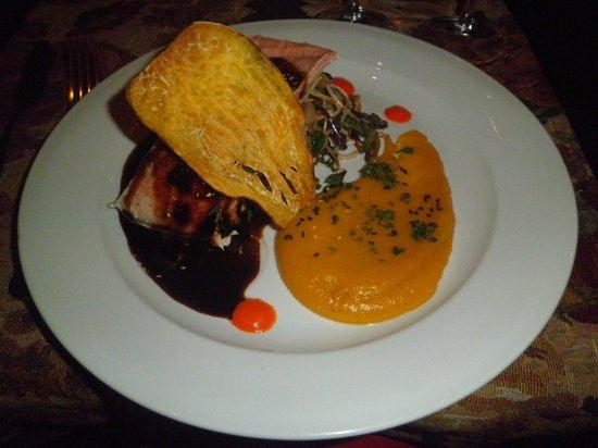 Restaurante Tandory: Salmon Mi-Cuit