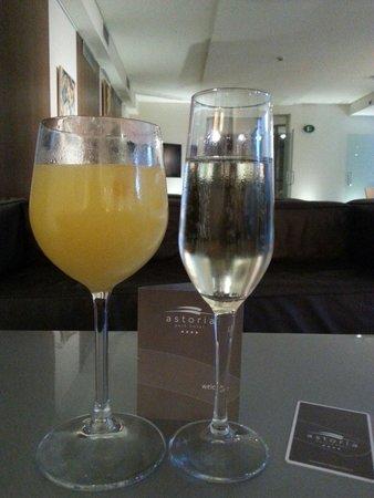 Astoria Park Hotel SPA Resort: L'aperitivo di benvenuto